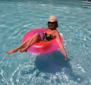 Floating in heaven