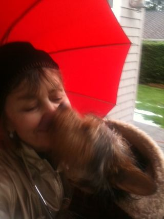 Rainy kisses